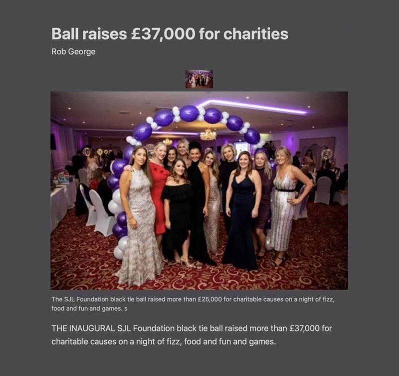 Ball-raises-37k-for-charities-SJL-Insurance-Brokers
