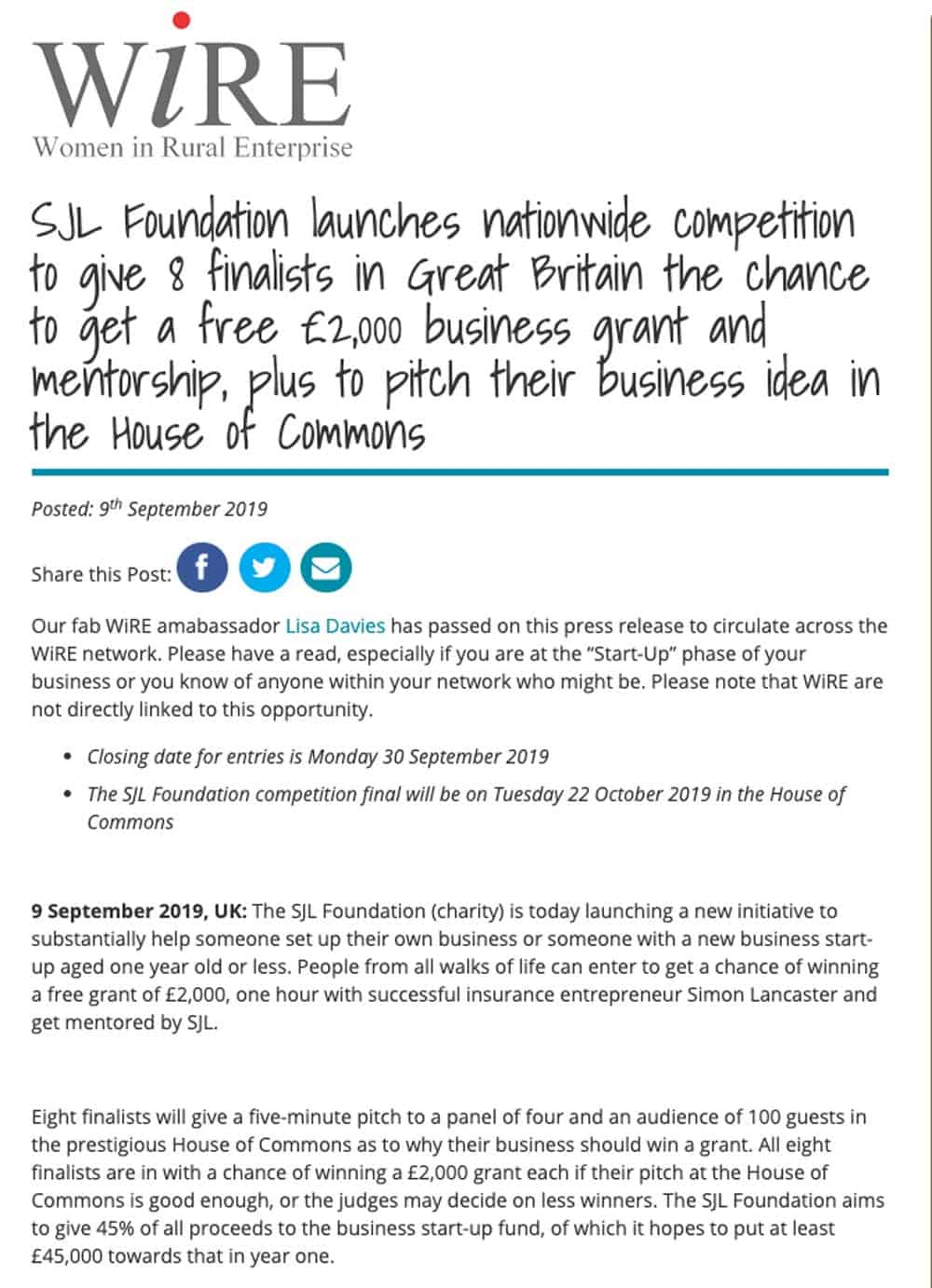 Nationwide-Competition-Free-Business-Grant-Mentoring-SJL-Foundation