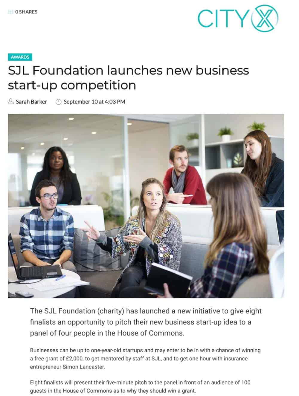 SJL-Foundation-CityX-Start-Up-Business-Competition