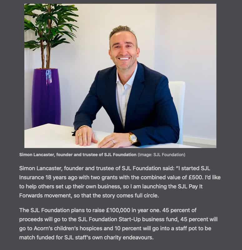 Simon-Lancaster-Founder-trustee-SJL-Foundation-Start-up-Businesses-grants-mentoring